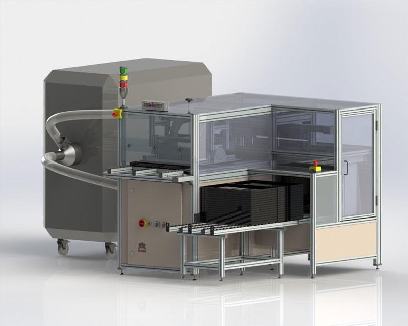 Kreutz-i Tray Cleaner RSA700® zur Werkstückträgerreinigung