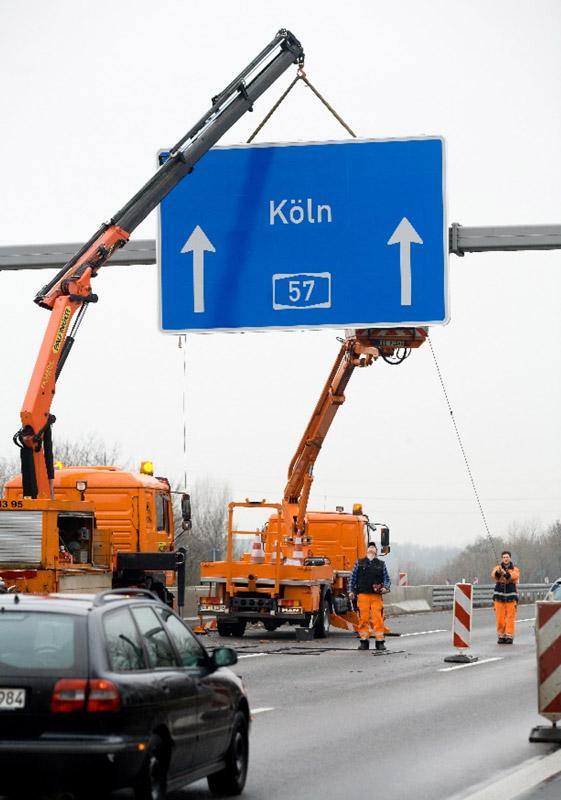 Deutliche Zeitersparnis durch Werkstattmontage (Quelle: Straßen.NRW)