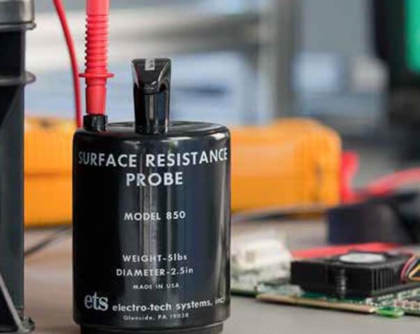 Elektrode zur Messung bei ESD Schutzzonen