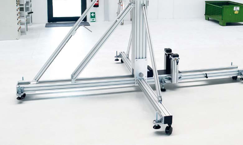 Fuß der Montagevorrichtung für Kühlerschutzgitter