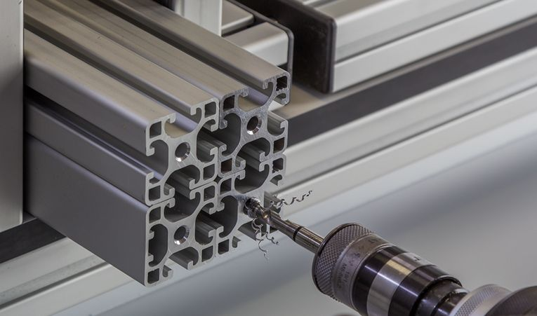 item Aluminiumprofile für optimalen Sondermaschinenbau