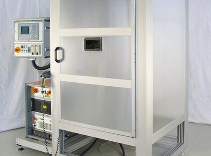 Industrielle Laserbeschriftungsmaschine
