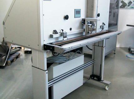 Effiziente Sicherheitstechnik in der AVT-Siegelstation 1400 MED