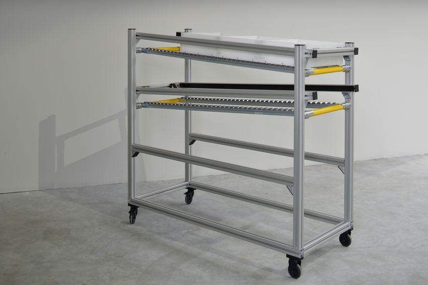 Montagewagen für die lean production