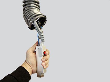 Vakuumgreifer per Hand betätigen