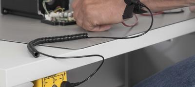 ESD-Armband zum Schutz elektrostatischer Aufladung