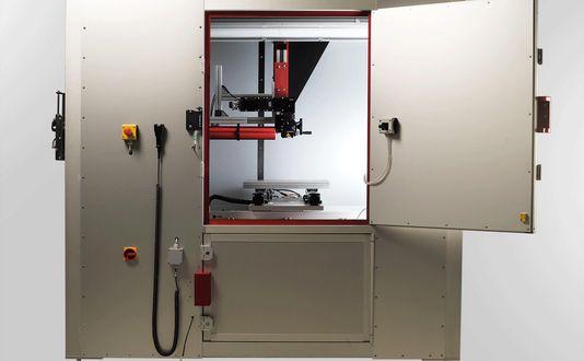 Stationäre Laserkabine für wissenschaftliche Anwendungen