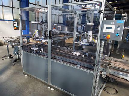 Deckelverschrauber für Kunststoffgebinde und Kanister