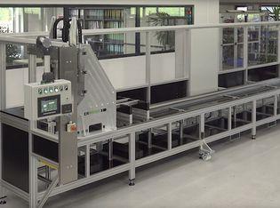 Doppelkopf Bohrautomat für präzises Bohren von Aluminiumprofilen