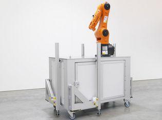 Flexible und mobile Roboterzelle optimiert Auslastung und verbessert Flächennutzung