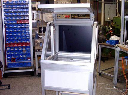Mobiler Inkubator mit Sichtfenster