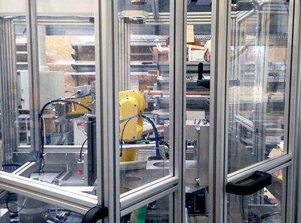 Schutzumhausung für Sondermaschinen