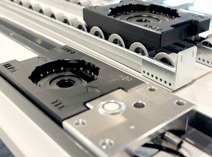 Montagelinie mit geringer Modellvarianz
