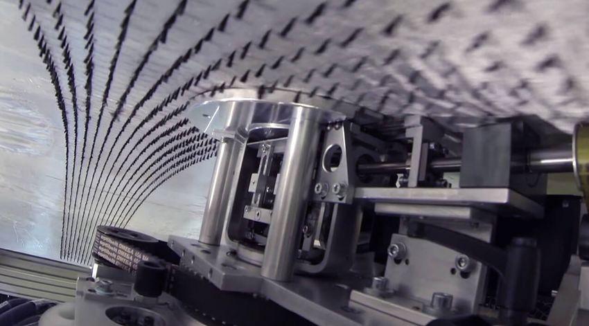 Nahaufnahme Nähautomat von Schmohl GmbH