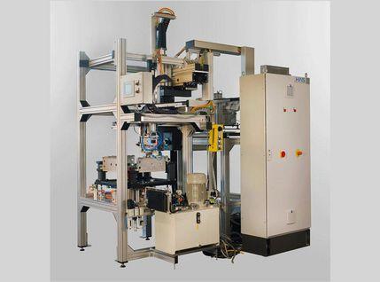 Verpressmaschine für Aluminiumstopfen