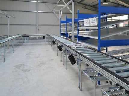 Produktionssystem als U-Linie mit Lean-Production Ansatz von Plan B