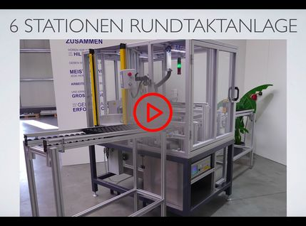 Video Thumbnail Rundtaktanlage mit sechs Stationen