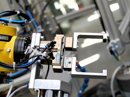 Doppelgreifer Roboterarm