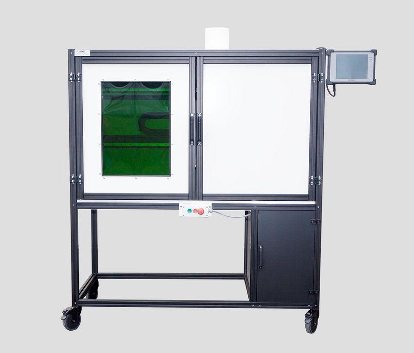 verriegelte trennende Schutzeinrichtungen ohne Zuhaltung an Lasermarkiergeräten