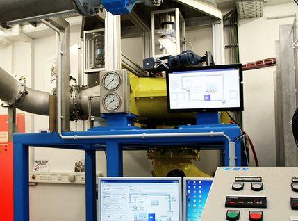 Messsystem zur Messung von Drehzahl, Durchfluss, Temperatur, Druck und Drehmomente