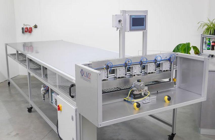 LMZ Prüfmaschine Kunststoffsäcke