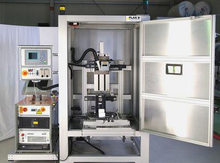 Laserbeschriftungsgerät für Getriebebauteile