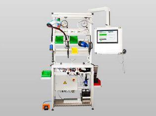 Montagetisch höhenverstellbar mit Nietgerät