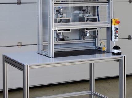 Kompakte und robuste Bajonett-Verschlussanlage