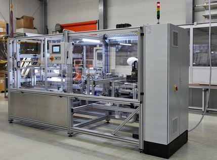 Automatische Fertigungsanlage