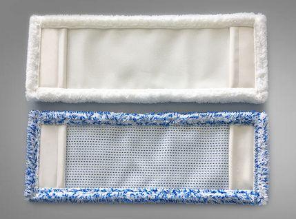 Wischmopbezüge hergestellt von Schmohl Nähautomaten