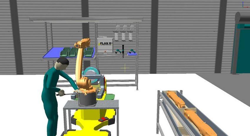 3D basierte Gestaltung der Stationen und Abläufe