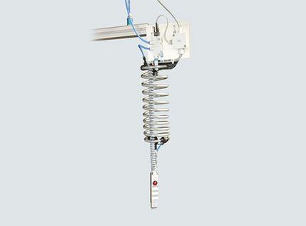 Hand-Vakuumgreifer - arbeiten ohne Fußschalter