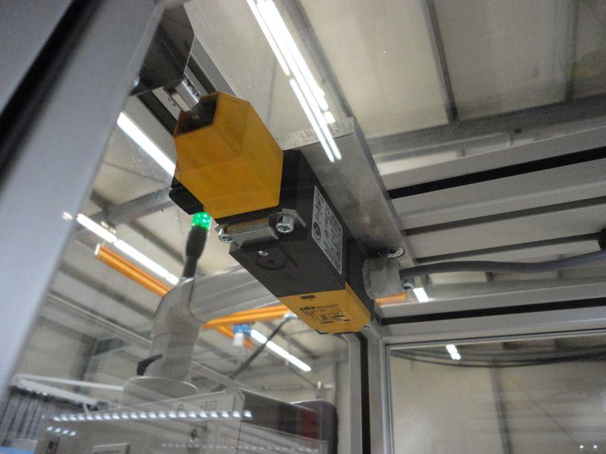 Sicherheitselement im Maschinenbau
