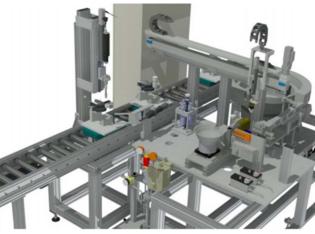 Montagezelle für Verschlussschrauben