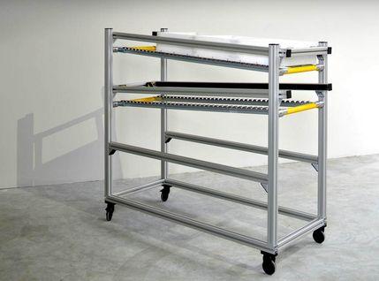 Montagewagen aus item Aluminiumprofilen von AVT