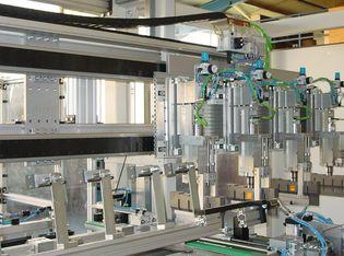 Netzherstellung mit Kunststoffstreifen