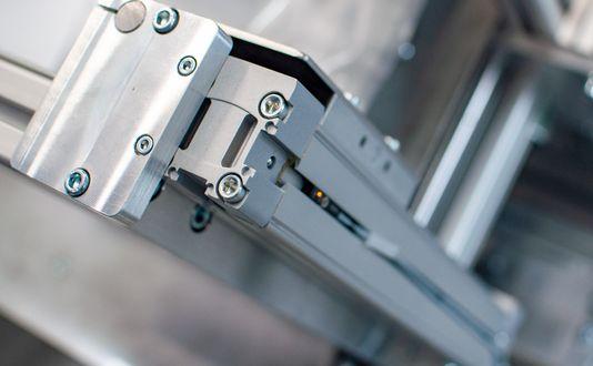 Aluminiumprofil von item verbaut