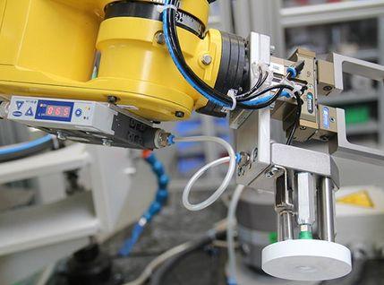 Doppelgreifer Robotermaschine