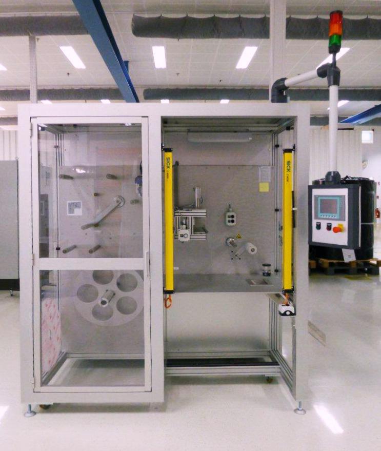Sondermaschine im Bereich der medizinischen Reinraumtechnik