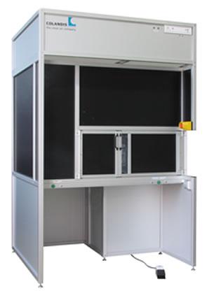 Maschine von Colandis in der Reinraumtechnik